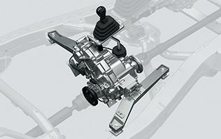 4代目新型ジムニー(機械式副変速機)