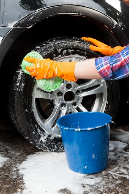 洗車(ホイール・タイヤ)