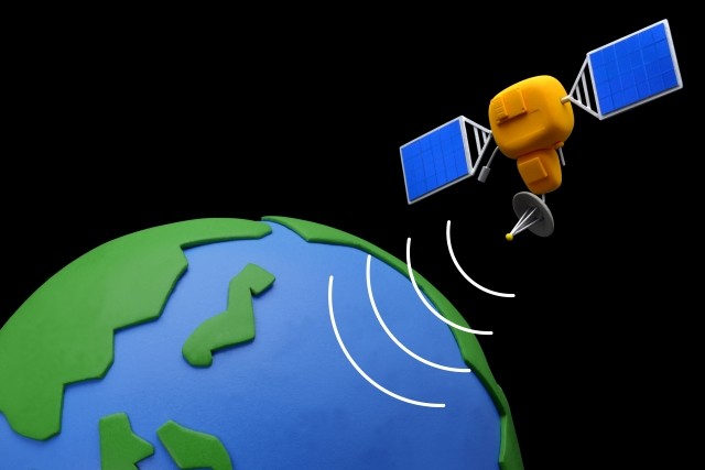人口衛星イメージ