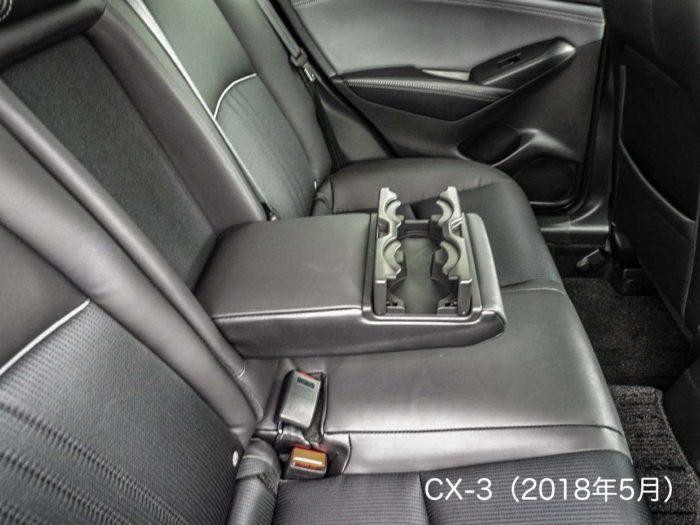 CX-3(2018後部座席)